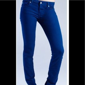 David Kahn Nikki Straight leg ultra marine jeans